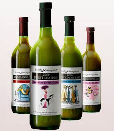 Botellas de vino para perros
