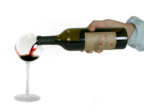 Copa de vino de diseño