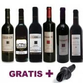Pack oferta vinos Alicante selección Culebrón + antigoteo regalo