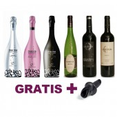 Pack oferta vinos de Alicante Bocopa premiados + antigoteo