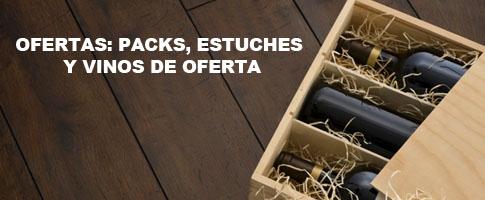 vinos de oferta: packs y estuches de vino